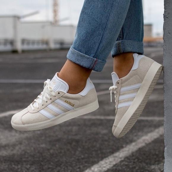 adidas Gazelle Off-White Women's Sneaker